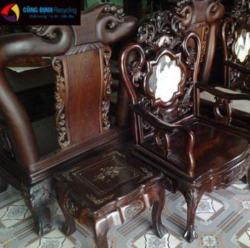 thu mua bàn ghế gỗ cũ