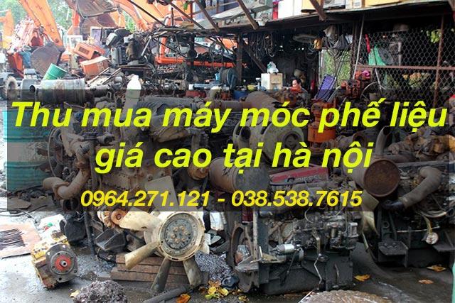 thu mua máy móc phế liệu giá cao tại hà nội