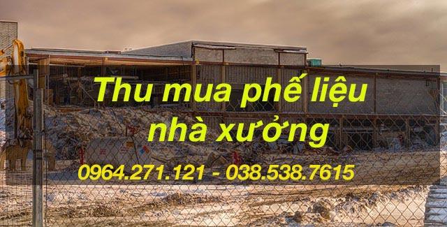 thu mua phe lieu tai ha noi